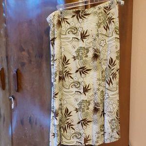 A Hawaiian theme skirt